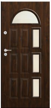 Drzwi Delta przeszklenie laska pcv