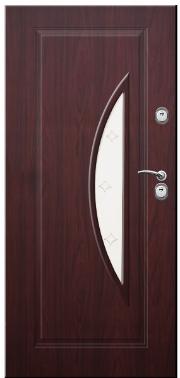 Drzwi Delta przeszklenie łuk pionowy