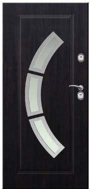 Drzwi Delta przeszklenie lima 3 inox