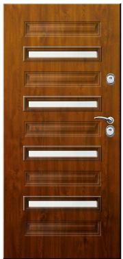 Drzwi Delta przeszklenie modern 4 pcv